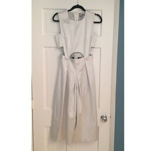 White/pearl ASOS jumpsuit. Brand new never worn